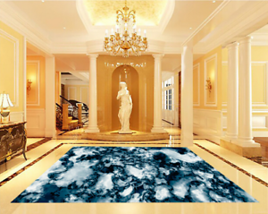 3D Art Style 532  Floor WallPaper Murals Wall Print 5D AJ WALLPAPER UK Lemon