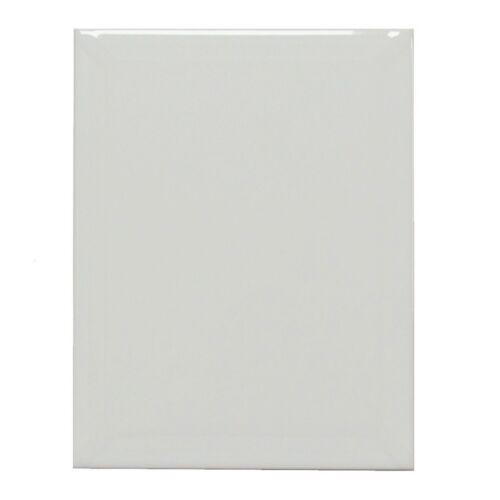 Remplacement Carreau mur GROHN e1459 pac40 Patricia blanc brillant facette 20 x 25 cm