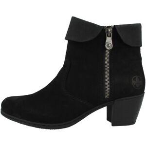 Black Schuhe Stiefeletten Antistress Corona Details Zu Y2150 Stiefel 00 Rieker Nablus Damen 9EDH2I