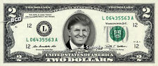 DONALD TRUMP on $2 Bill REAL Money Cash Dollar Collectible Memorabilia