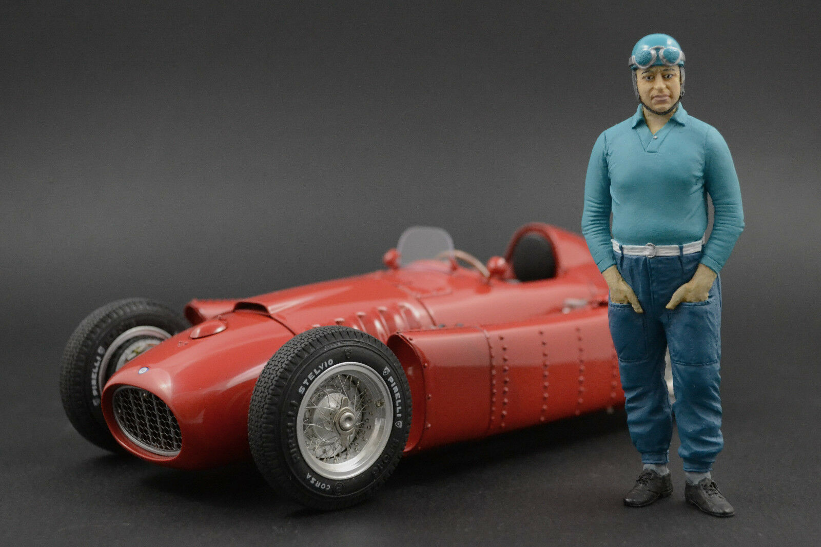 Alberto Ascari Figure for 1 18 CMC Maserati 250F  Very  RARE