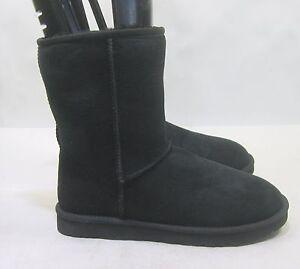 d5604963c3f UGG Men's CLASSIC SHORT BLACK Model: 5800 men size 8- womens size ...