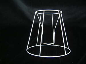 Tall tapered drum wire lampshade frame 6 base ebay image is loading tall tapered drum wire lampshade frame 6 034 greentooth Choice Image