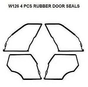 Mercedes Benz W108 Door Seals Weatherstrip Seal Gaskets 250S 280S 250SE 280SE