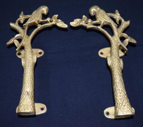 Antique Door Knobs & Handles Parrot Figurine Door Handle Brass ...