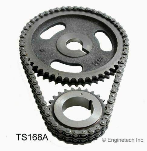 Enginetech Timing Set 3pc HD Double Roller Timing Chain Dodge Mopar 383 440 9
