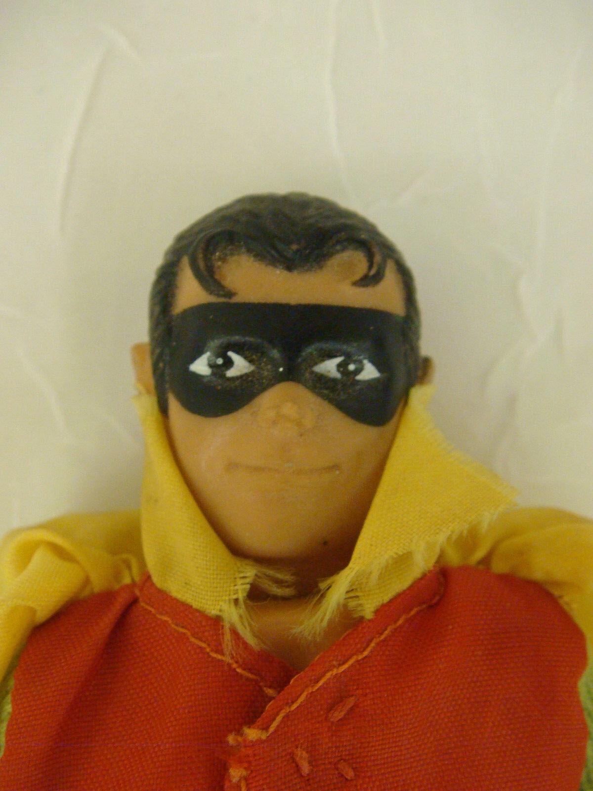 VINTAGE MEGO ROBIN 1971 ACTION FIGURE BOOTS CAPE CAPE CAPE 8  BATMAN BOY WONDER 82e89a