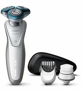 philips rechargeable shaver s7530 50 for sensitive skin with beard trimmer 8710103733249 ebay. Black Bedroom Furniture Sets. Home Design Ideas