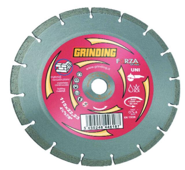 Grinding disco diamantato a 14 settori Ø115 mm per smerigliatrice marmo
