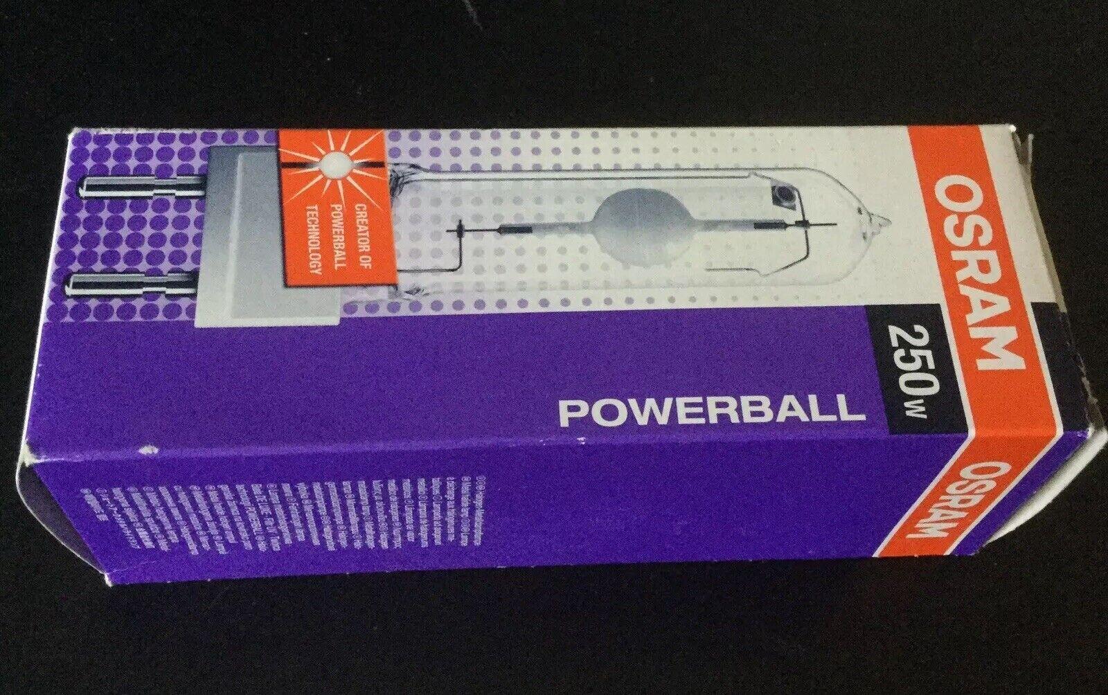 Osram Powerball Hci-TM 250W 942 dioxina blancoo Neutro De Luxe G22