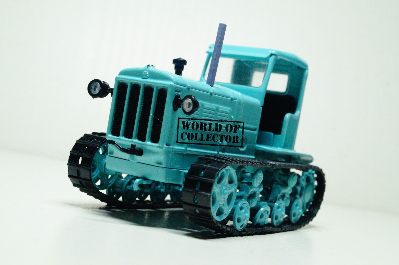 SHZT NATI Tractor USSR Scale 1 43 Hachette Collections Diecast model