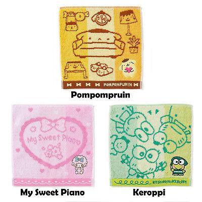 Japan Hello Kitty Cinnamoroll Gudetama Bad Badtz Maru Hand Towel 20 x 20cm