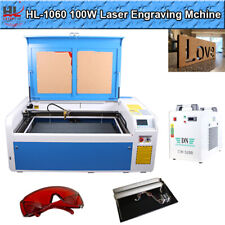 Hl Reci 39 X 24 100w Co2 Laser Engraver And Cutter Machines Auto Focus Cw5200