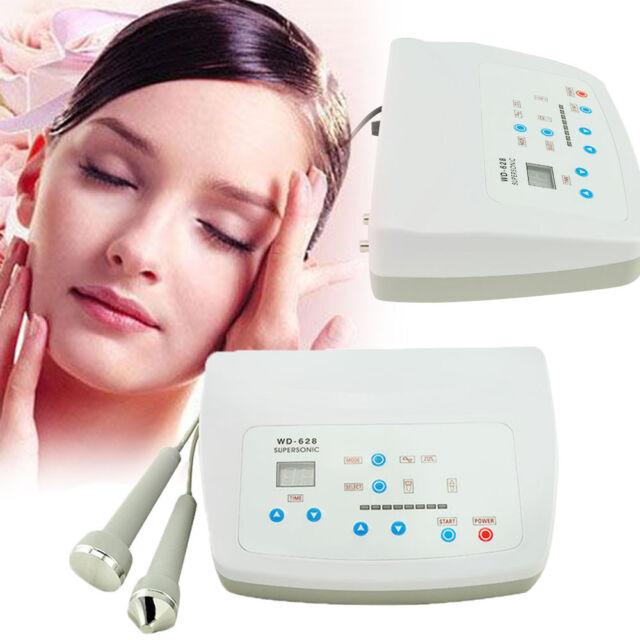 USA Ultrasound Facial Body Skin Massager Pain Therapy Ultrasonic Machine 50  Hz
