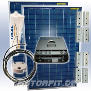 160w 12v Solara Solaranlage Wohnwagen Solaranlage 100% Made In Germany 160watt
