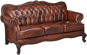 Chesterfield-Tufted-Modern-Lounge-Leather-Sofa-Couch-Mid-Century-Antique-Look