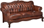 Chesterfield-Tufted-Modern-Lounge-Leather-Sofa-Couch-Mid-Century-Antique-Look thumbnail 1