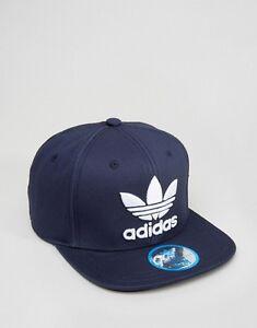 Image is loading NEW-Men-Women-Adidas-Originals-Trefoil-Snapback-Trucker- ef1bdf0eb1db