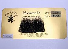 CHARLIE CHAPLIN Adolf Hitler 100% REAL HUMAN HAIR MOUSTACHE Costume Make-up New