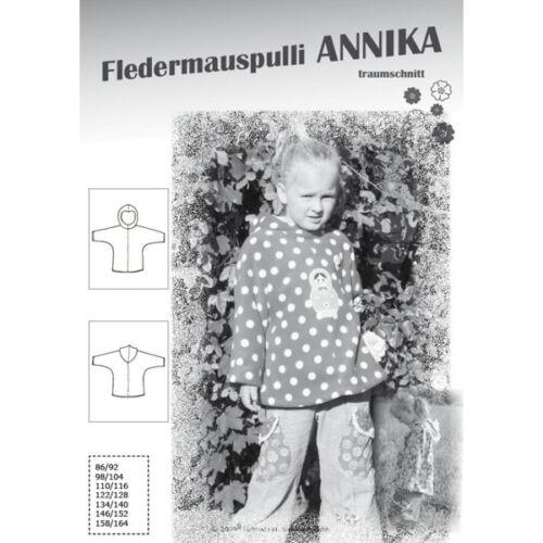 ~ Coupe motifs Annika ~ chauve-souris pull 86//92-158//164 farbenmix