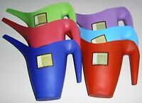 Decorative 51oz Watering Cans Assorted Colors