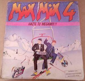 """max mix 4 box disco vinilo 12"""""""