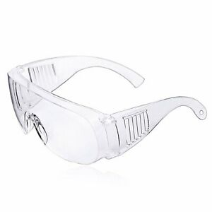 Clear Safety Anti Fog Goggles Glasses for Work Lab Outdoor Eye Protection