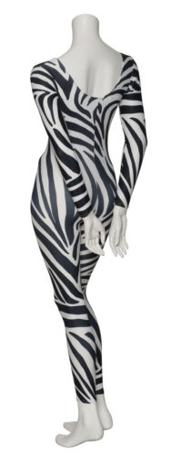 KDC017 Variety Of Animal Prints Long Sleeve Footless Dance Catsuit By Katz