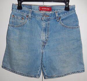 Levi's X Denim 6 29 Shorts 8 Size Jeans Women's 34 Misses Classic rqZUzr