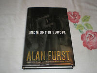 Midnight In Europe By Alan Furst Signed