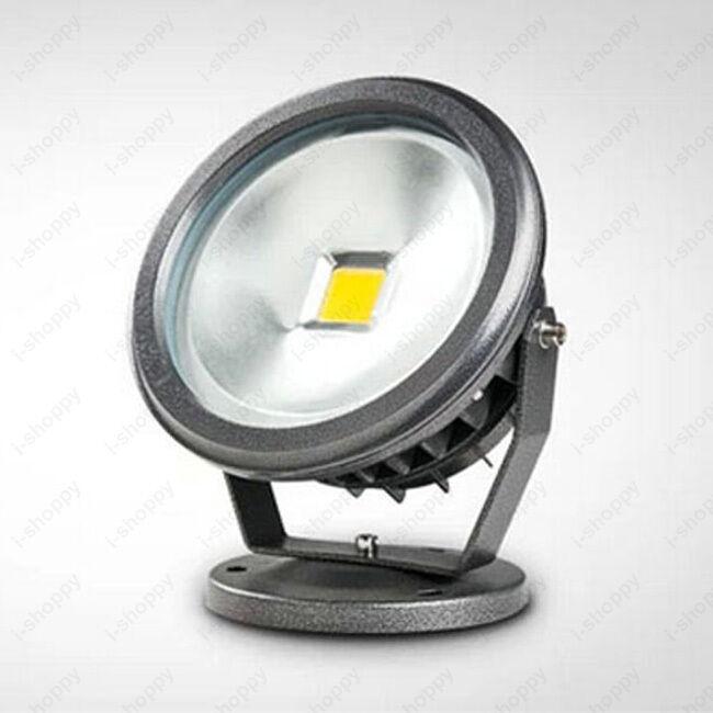 Alta potencia LED Luz De Inundación Impermeable Ajustable Lámpara de proyectos al aire libre signo de la etapa