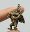 1-6-034-Collect-Nepal-Tibetan-Buddhism-Bronze-Garuda-Dhwaja-Buddha-Amulet-Pendant thumbnail 4