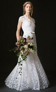 Designer-Temperley-Amoret-Floral-Lace-Silk-Gown-Wedding-Bridal-Dress-8-36-4500