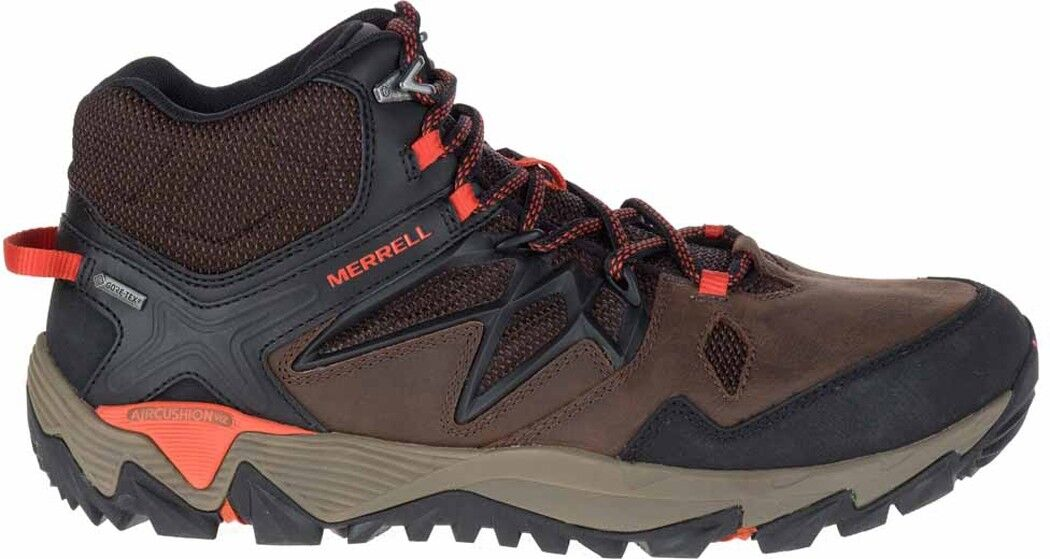 Merrell All Out Blaze 2 Mid  GTX Mens Walking Boots - Brown  100% fit guarantee