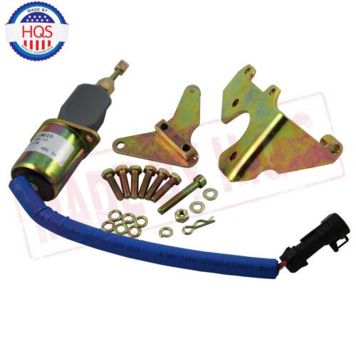 Fuel Shut Off Solenoid Kit For 94-98 5.9L Dodge Diesel Cummins 3931570 5016244AA
