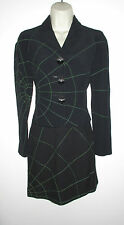VINTAGE MOSCHINO CHEAP AND CHIC BLACK MAP AND COMPASS BUTTONS SUIT 4