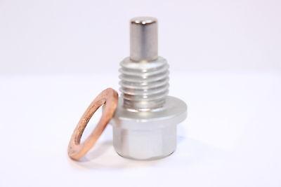 Vw Passat, Silver Magnetic Sump Plug + Washer Kan Herhaaldelijk Worden Omgedraaid.
