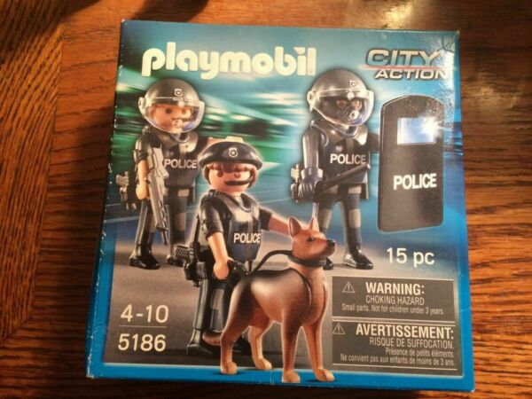 Ongebruikt PLAYMOBIL Police Special Forces Unit 5186 SWAT for sale online | eBay QB-47