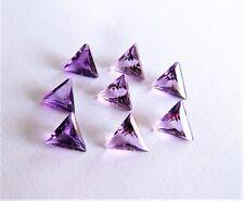 1 Amethyst Dreieck Triangel Trillant  6 mm und 7 mm  ca 0,50 Carat  lila violett