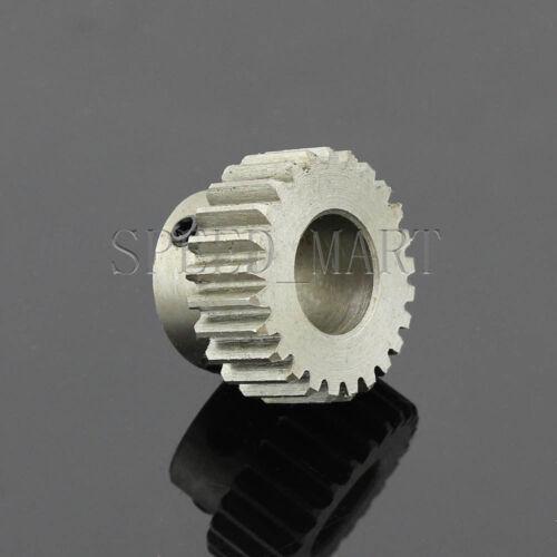 1M-25T 16mm Bore Hole 25 Teeth 25T Module 1 Motor Metal Gear Wheel Top Screw
