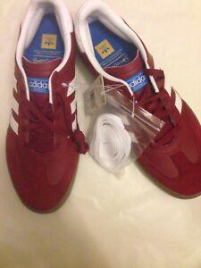 huge selection of 69267 ebd05 Image is loading Adidas-Mens-Busenitz-Vulc-RX-Skateboarding-Shoes-Burgundy-
