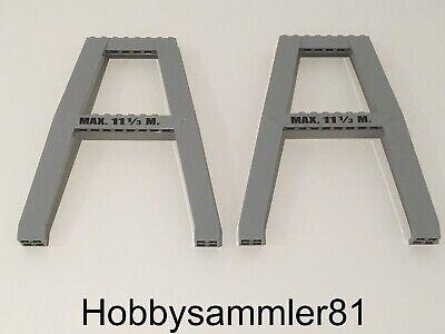 Halter Ständer Sockel Standfuss 4375 Neu pearl light gray Lego Duplo silberner