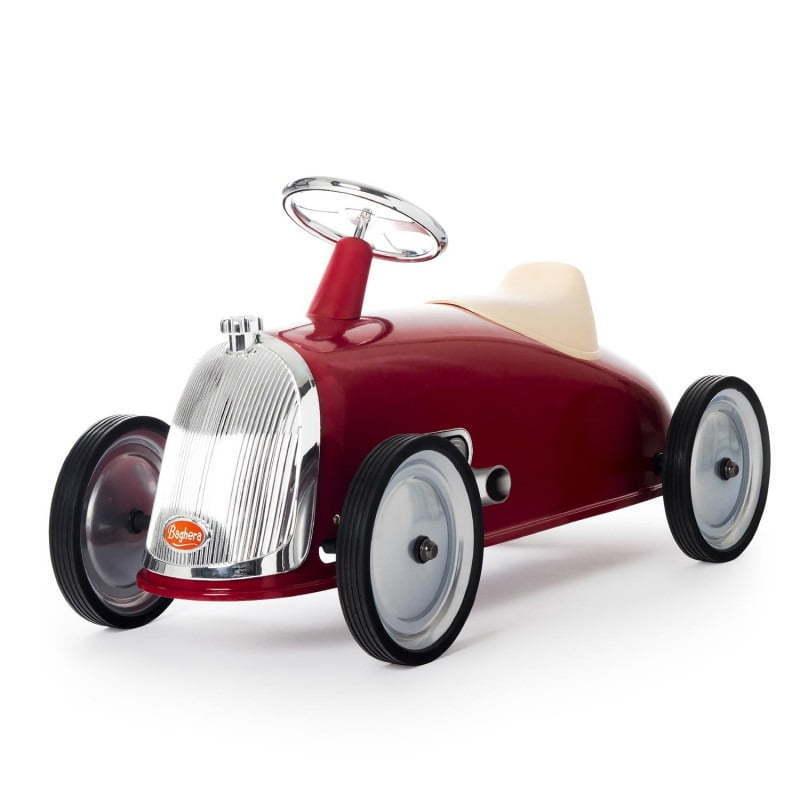 Auto  Cavalcabile Vintage Da Corsa Per Bambini borsahera Rider Rosso  alta qualità e spedizione veloce