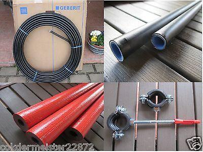mit Schutzrohr 16 mm x 2,25 mm 601131002 50 m Rolle // Ring Geberit Mepla Rohr