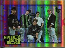 Topps 75th Anniversary Parallel Rainbow Foil Base Card 94 New Kids on the Block