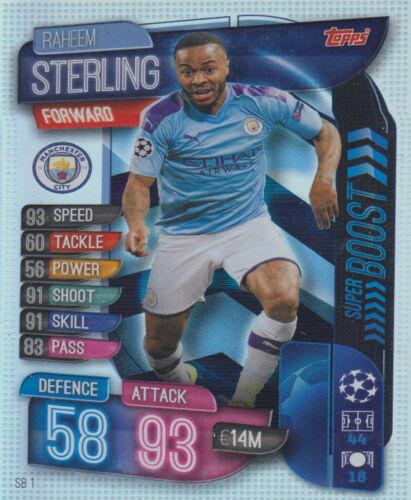 Champions League 19//20 2019 2020 Extra SB1 Raheem Sterling Super Boost Strikers