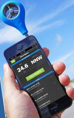 NEW Weatherflow iPhone Cell Phone Wind Speed Windmeter Anemometer