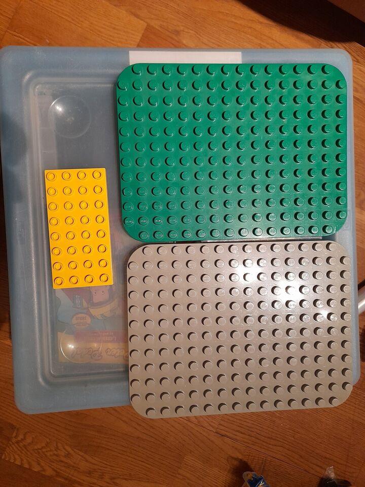 Lego Duplo, Lego duplo plade