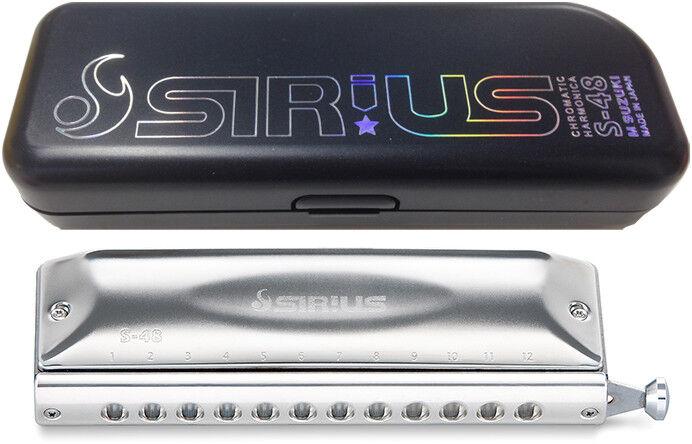 Suzuki Suzuki Suzuki Sirius S-48S cromática 12 agujeros 48 sonidos Japan F S Nuevo  marcas en línea venta barata