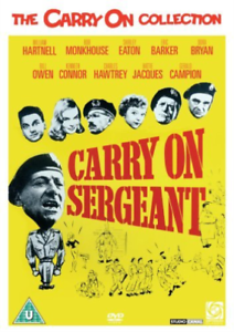 William-Hartnell-Bob-Monkh-Carry-On-Sergeant-DVD-NUOVO
